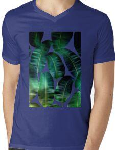 Cosmic Banana Leaves #redbubble #lifestyle Mens V-Neck T-Shirt