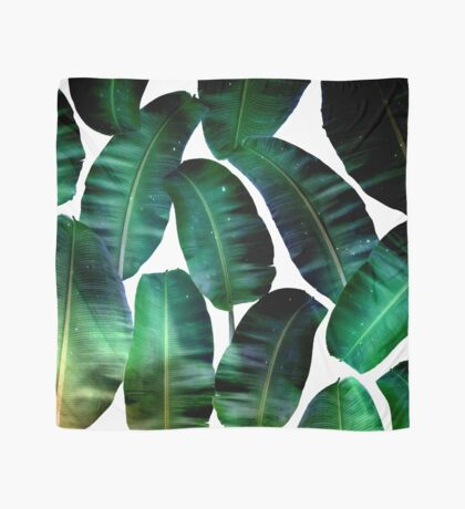 Cosmic Banana Leaves #redbubble #lifestyle Scarf