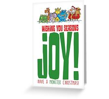 Not So Joyful Santa! Greeting Card