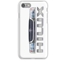 Toyota Hilux N60 Grill Side iPhone Case/Skin