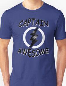 CAPTAIN AWESOME TSHIRT Funny Humor TEE COMIC VINTAGE New LIGHTNING VTG 80s Cool T-Shirt