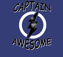 CAPTAIN AWESOME TSHIRT Funny Humor TEE COMIC VINTAGE New LIGHTNING VTG 80s Cool Unisex T-Shirt