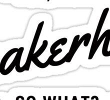 Sneakerhead - Black Sticker