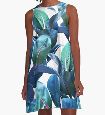 Rubber Plant #redbubble #lifestyle A-Line Dress