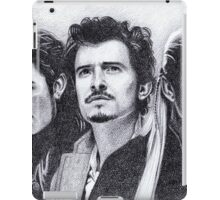 The Many Faces of Orlando Bloom iPad Case/Skin