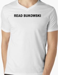 Charles bukowski T-shirt poetry bukowski Jack Kerouac cool tshirt poetry book (also available on crewneck sweatshirts and hoodies) SM-5XL Mens V-Neck T-Shirt