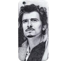 The Many Faces of Orlando Bloom iPhone Case/Skin