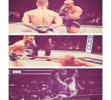 Conor Mcgregor KO Eddie Alverez UFC  Photographic Print
