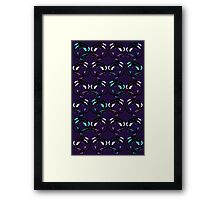 Cool Coiled Dragons Framed Print