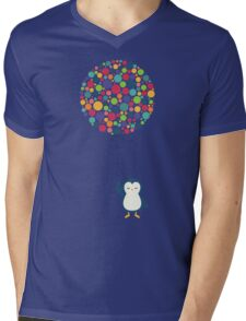 Float In The Air Mens V-Neck T-Shirt