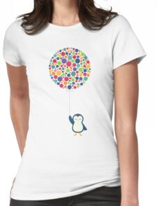 Float In The Air Womens Fitted T-Shirt