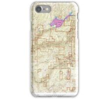 USGS TOPO Map California CA Sly Park 300543 1952 24000 geo iPhone Case/Skin