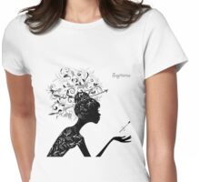 Sagittarius Womens Fitted T-Shirt