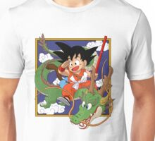 son goku and the dragon  Unisex T-Shirt