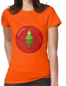 Merry Christmas!! Womens Fitted T-Shirt