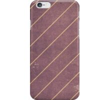 Vintage Striped Wallpaper 01 iPhone Case/Skin