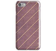 Vintage Striped Wallpaper 01 iPhone Case/Skin