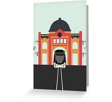 Melbourne Icon - Tram Greeting Card