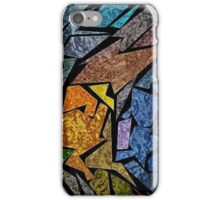 Kaz Art Creations Technicolour Fish Stained Glass iPhone Case/Skin