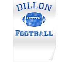 DILLON PANTHERS TSHIRT Friday Night Lights Football TEE TV Show East North T Poster