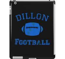 DILLON PANTHERS TSHIRT Friday Night Lights Football TEE TV Show East North T iPad Case/Skin