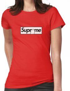 Good Night Oyasumi Punpun x Supreme Parody Collab Small Box Logo Womens Fitted T-Shirt