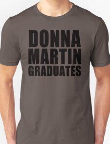 Donna Martin Graduates T-Shirt 90210 TV TEE Retro Funny hip Beverly Hills CA Unisex T-Shirt