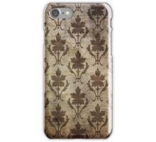 Vintage Patterned Wallpaper 01 iPhone Case/Skin