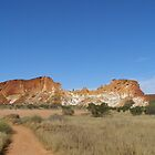 First impressions of Rainbow Valley, N. Territory Australia. by Rita Blom