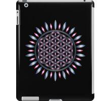 SACRED GEOMETRY - FLOWER OF LIFE - SPIRITUALITY - YOGA - MEDITATION iPad Case/Skin