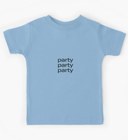 Party Party Party Kids Tee