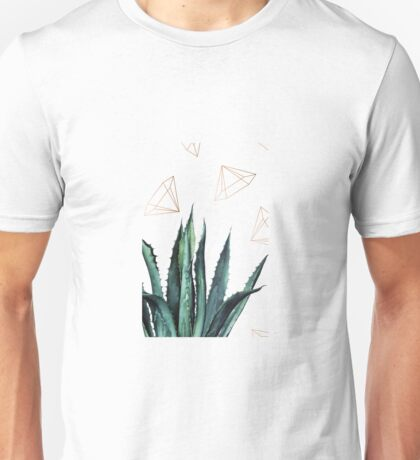 Agave Geometry #redbubble #lifestyle T-Shirt
