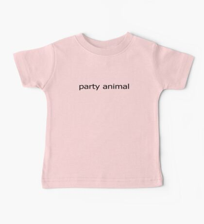 Party Animal Baby Jumpsuit Baby Tee
