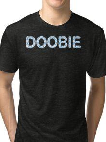 Doobie t shirt Marijuana t shirt Weed Doobie Brothers 420 t shirt bob marley t shirt black market rock t shirt rap music Tri-blend T-Shirt