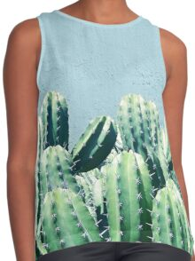 Cactus & Teal #redbubble #lifestyle Contrast Tank