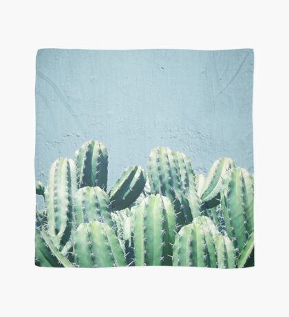 Cactus & Teal #redbubble #lifestyle Scarf