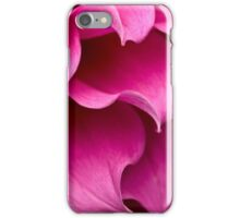 Waves of pink iPhone Case/Skin