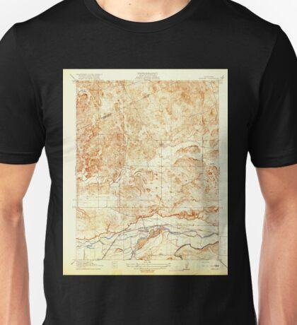 USGS TOPO Map California CA Snelling 296515 1918 31680 geo Unisex T-Shirt