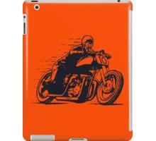 Vintage Cafe Racer Motorcycle iPad Case/Skin
