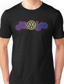 Dr Who VW Mash Up Tee - Gallifrey Volkswagen Unisex T-Shirt