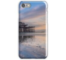 Standing still at the West Pier iPhone Case/Skin