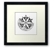 Mandala #11 Framed Print