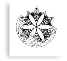 Mandala #11 Canvas Print