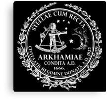 Arkham City Seal Canvas Print