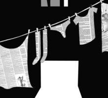 Laundry Sticker