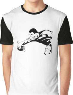 Rugby Try Graphic T-Shirt