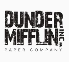 DUNDER MIFFLIN TSHIRT Funny Humor THE OFFICE TEE Paper COMPANY Dwight Humorous by beardburger