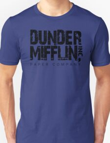 DUNDER MIFFLIN TSHIRT Funny Humor THE OFFICE TEE Paper COMPANY Dwight Humorous Unisex T-Shirt