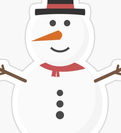 Chrismas Snowman Sticker