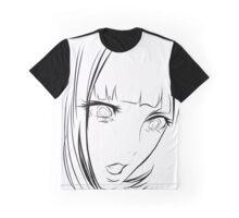 Minimal manga sketch design Graphic T-Shirt
